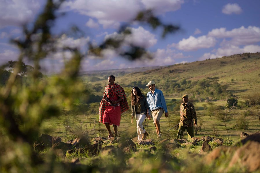Kenya walking safaris - kicheche mara