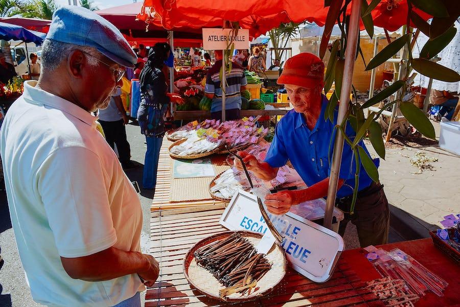 Reunion Island holiday - forain de saint