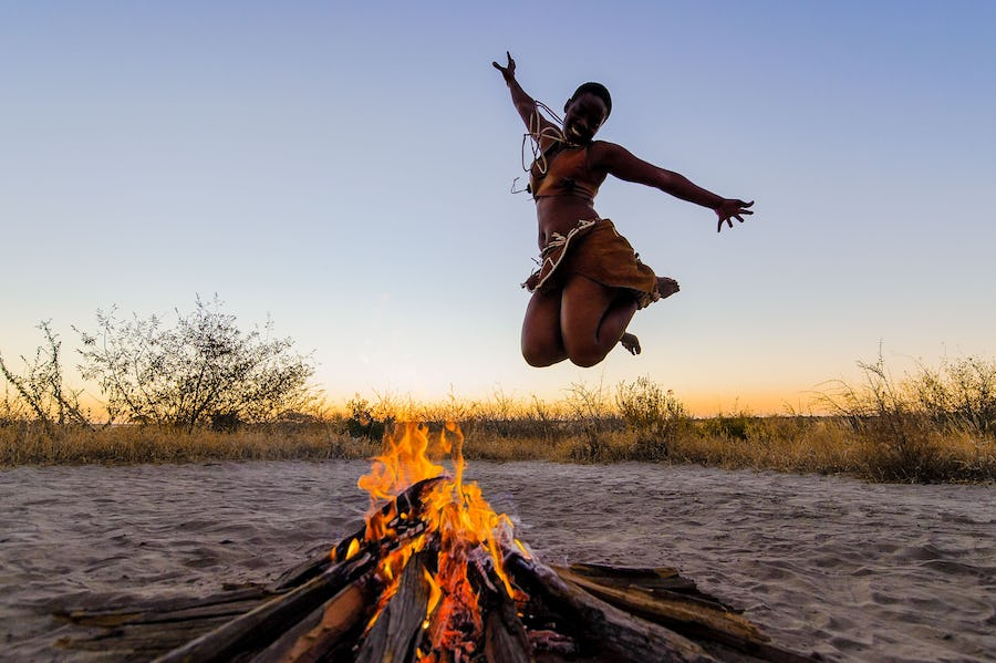 eco-conscious travel - kalahari plains