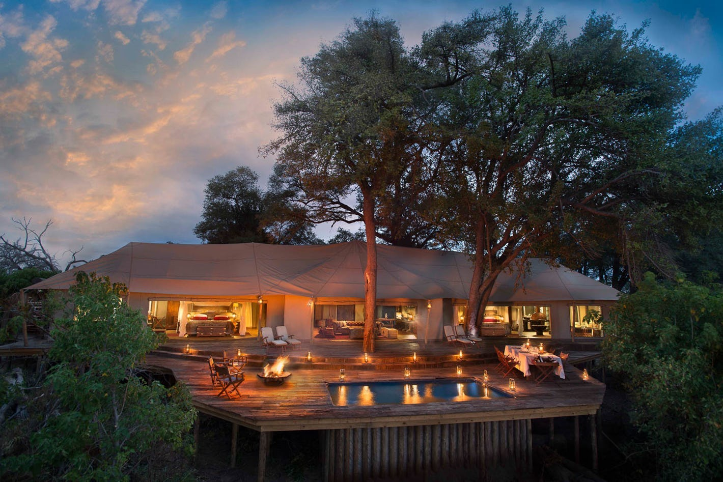 Best lodges in Botswana