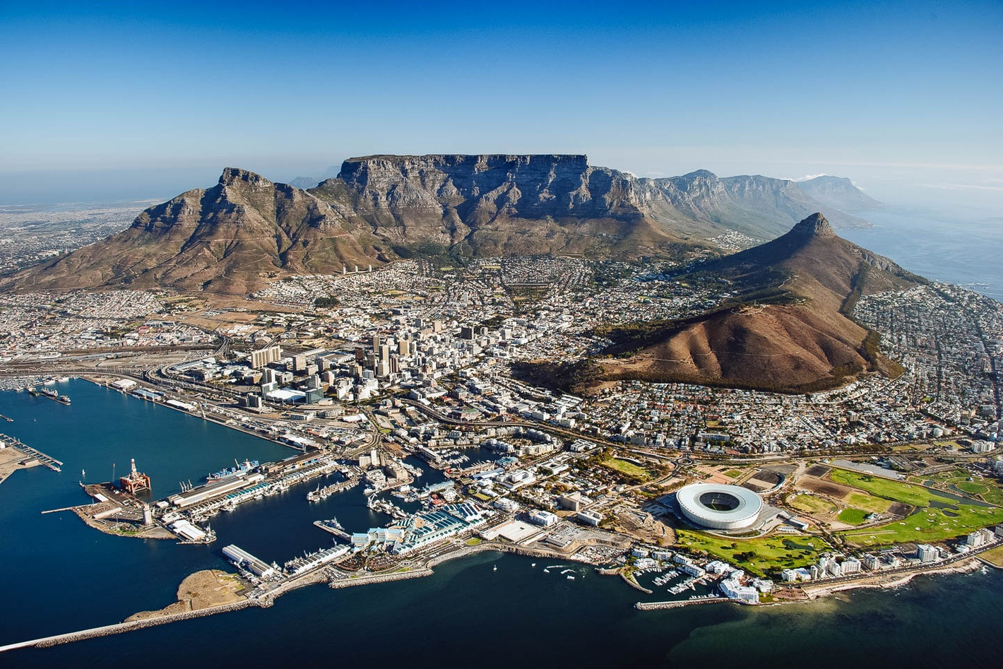 Image result for Table Mountain, South Africa
