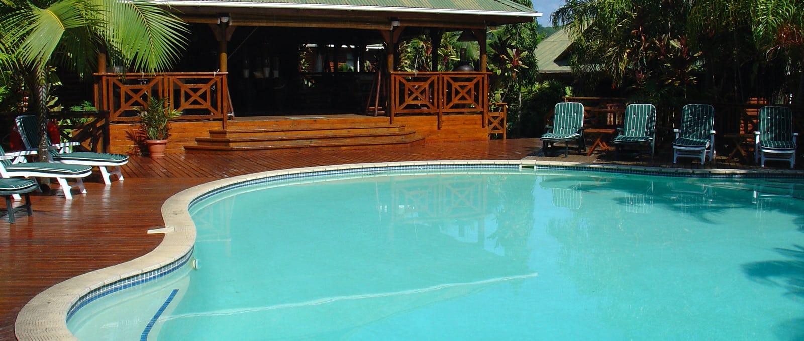 Le jardin des palmes hotel seychelles timbuktu travel for Pool designs under 50 000