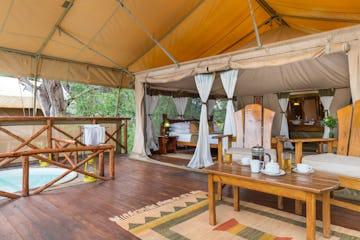 Elephant Bedroom Camp Kenya Timbuktu Travel