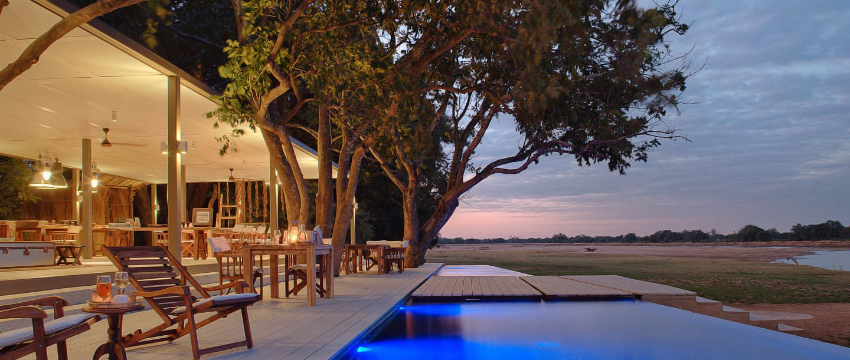 Chinzombo safari camp zambia timbuktu travel for Pool designs under 50 000