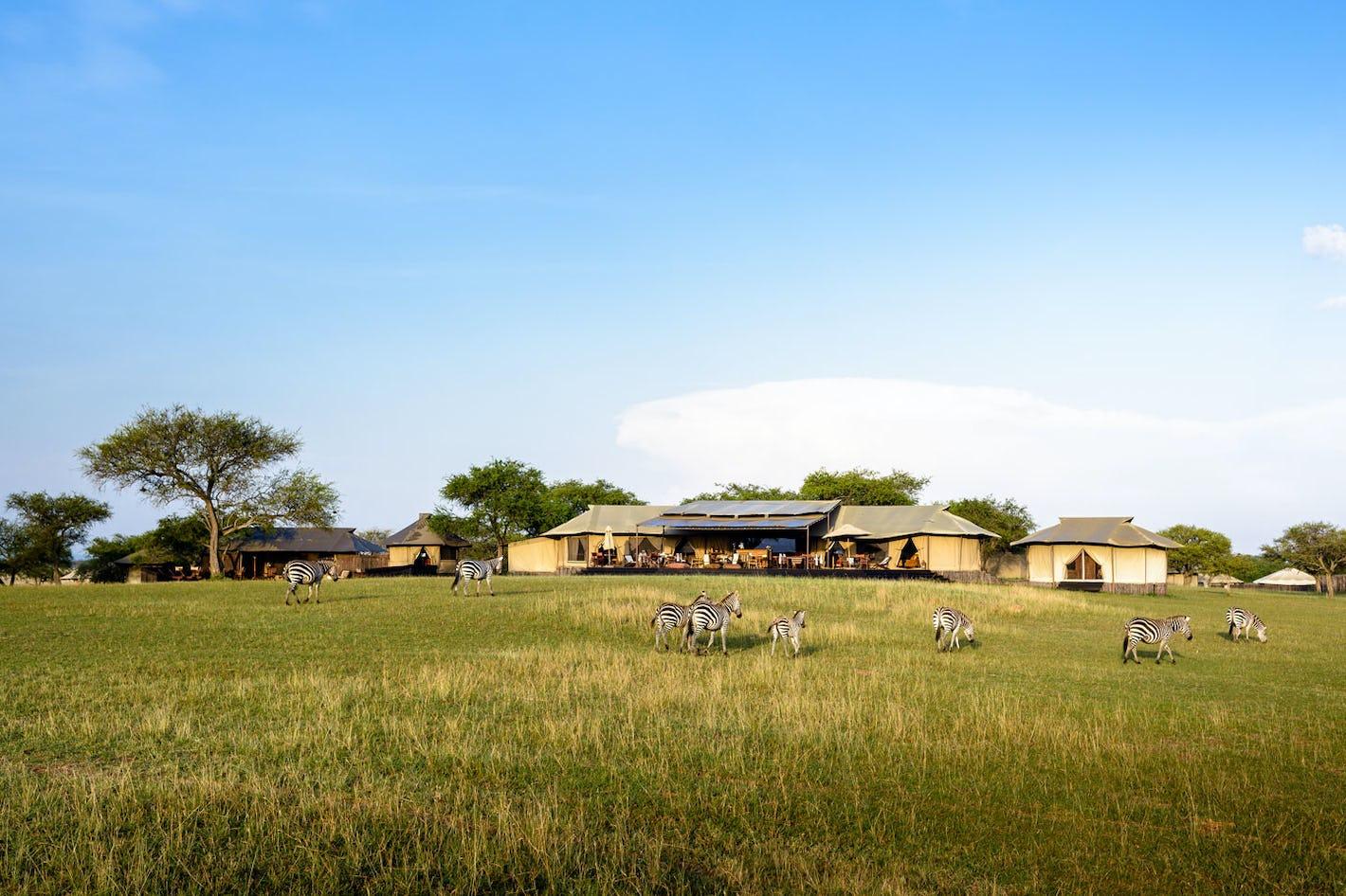 outdoor singita sabora tented camp tanzania timbuktu travel