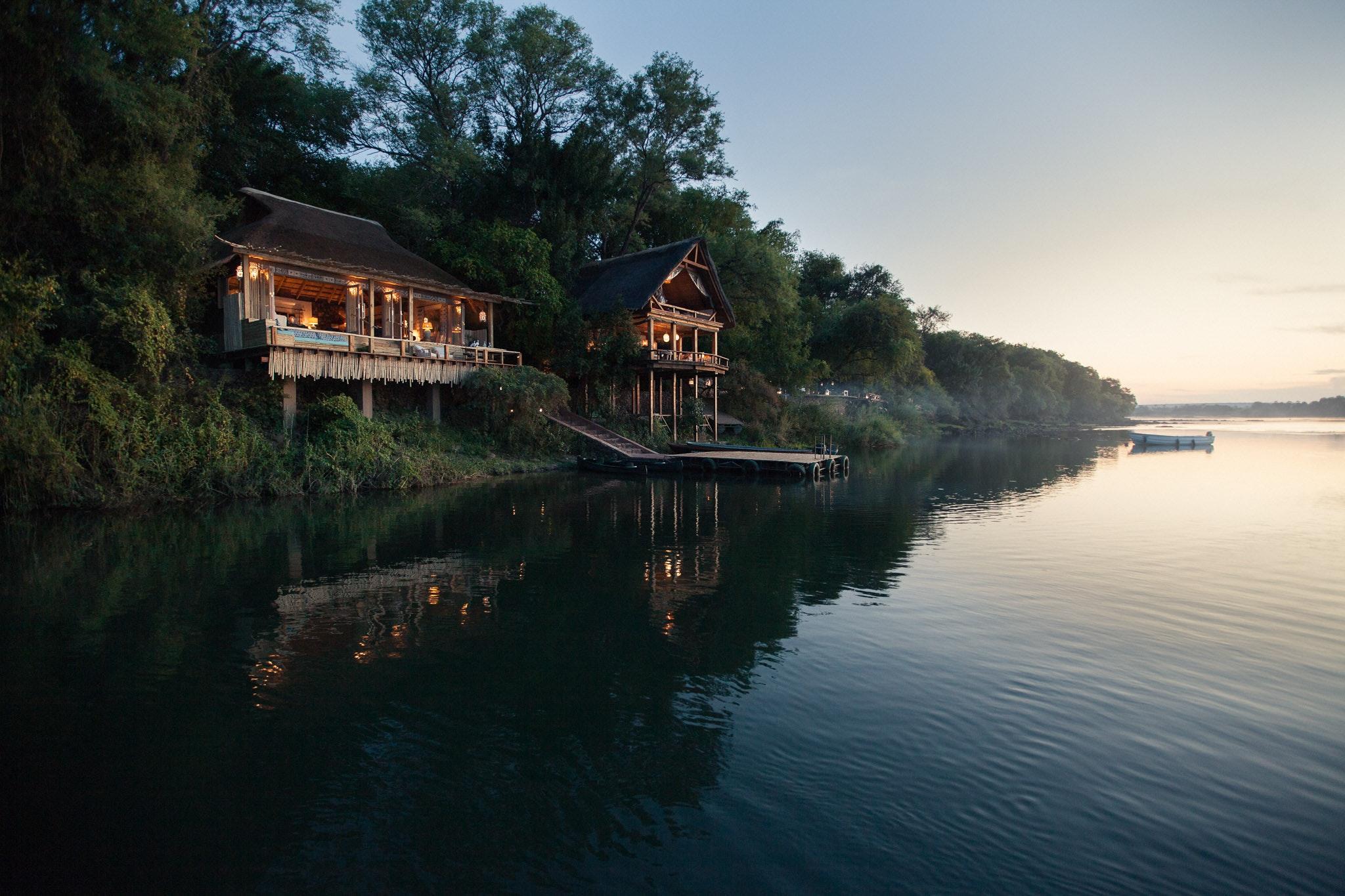 Tongabezi Lodge  Zambia