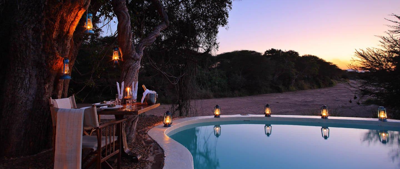 Jongomero camp tanzania timbuktu travel for Pool designs under 50 000