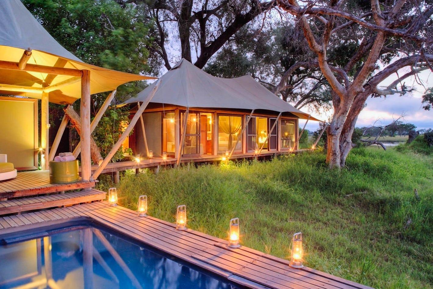 Design your okavango delta safari online timbuktu travel for Pool designs under 50 000