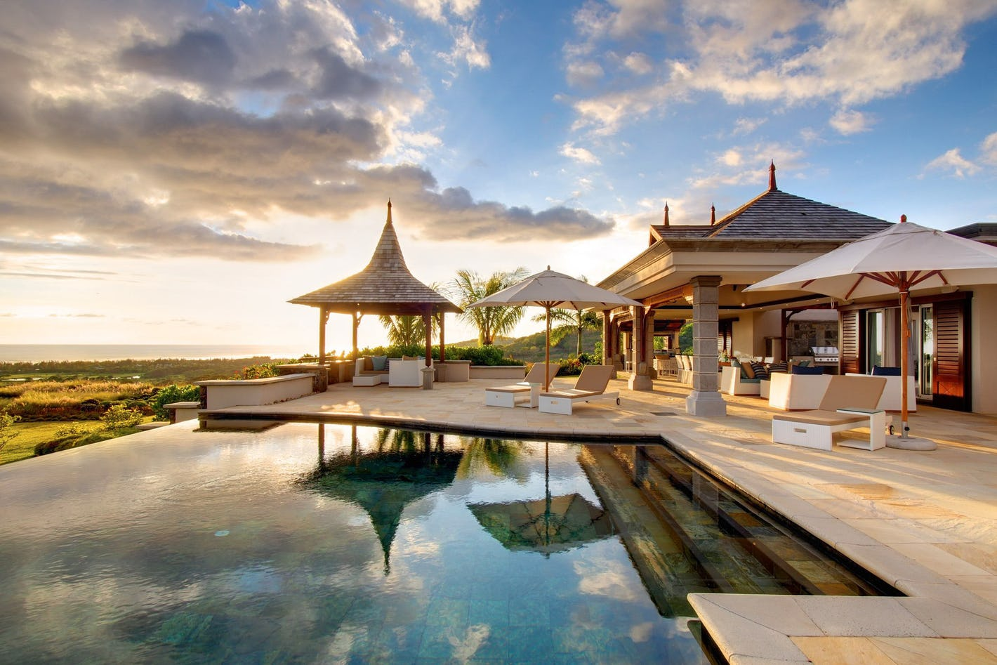 House design mauritius - These Exquisite Villas In Stunning Mauritian Surroundings Offer The Last Word In Luxury Enjoy The