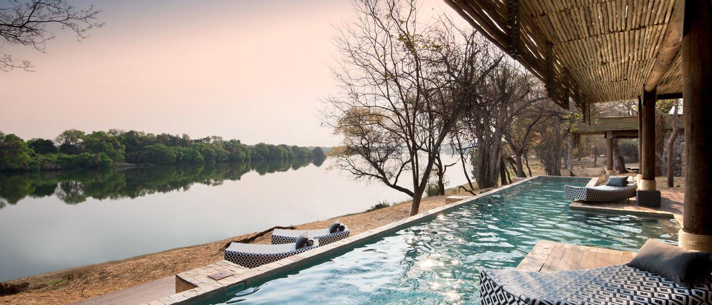 Beyond matetsi river lodge zimbabwe timbuktu travel for Top 20 luxury hotels in the world
