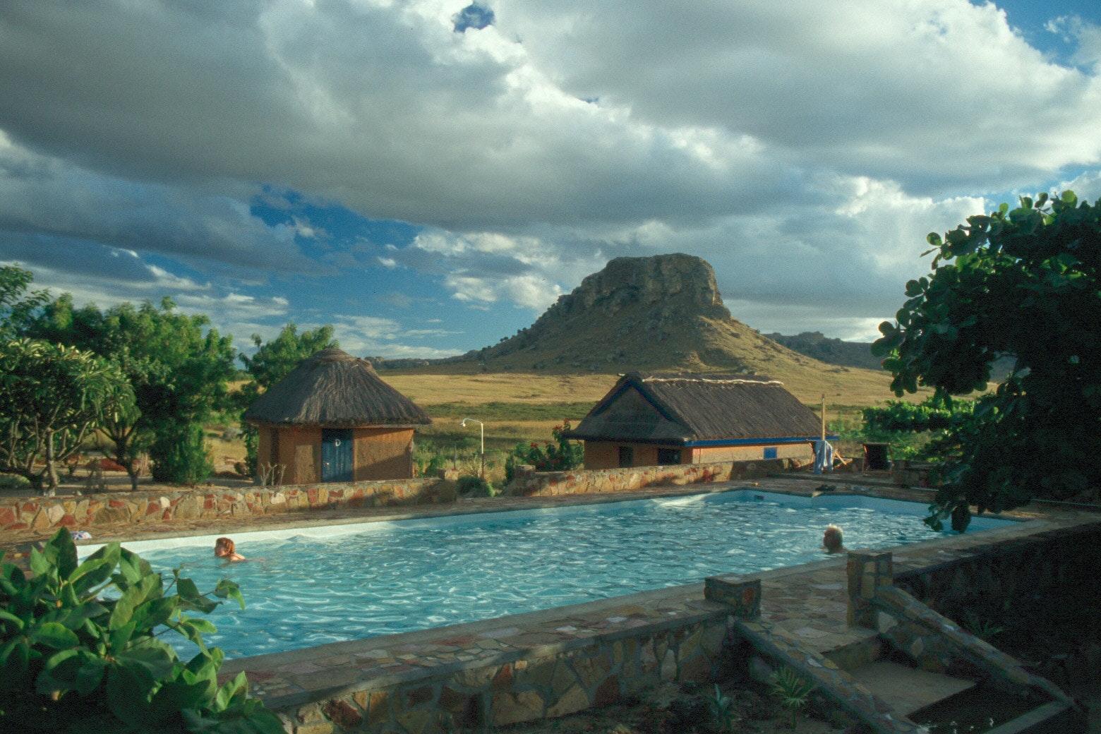Isalo Rock Lodge  Madagascar