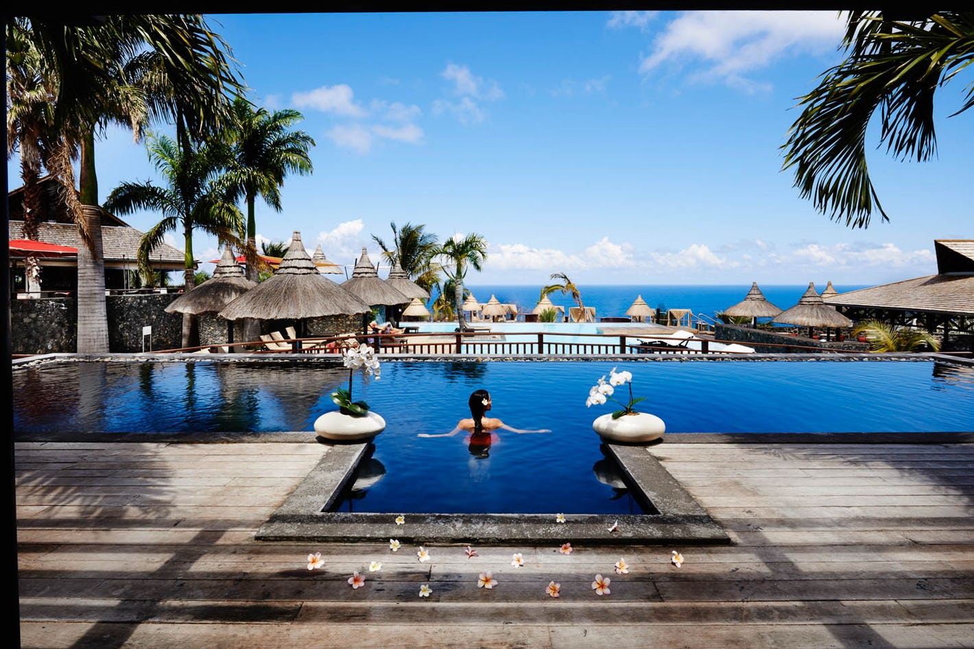 Enjoy The Chic Palm Hotel Spa And Soak Up Panoramic Views Of Ocean