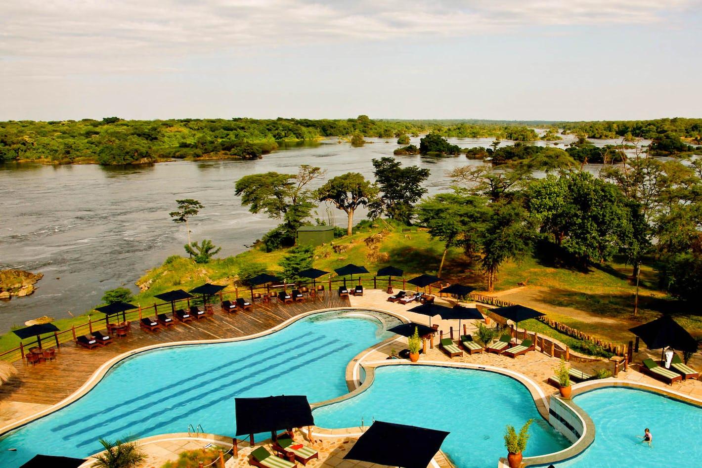 Lake albert lodge uganda timbuktu travel for Knebel design pool ug