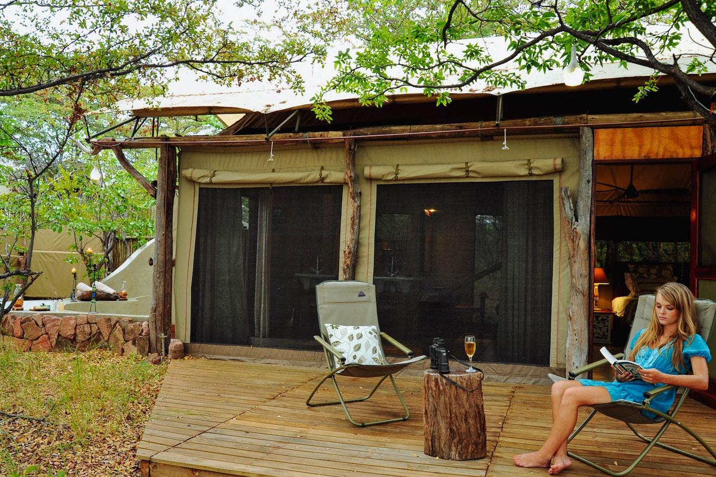 rhino safari camp zimbabwe timbuktu travel