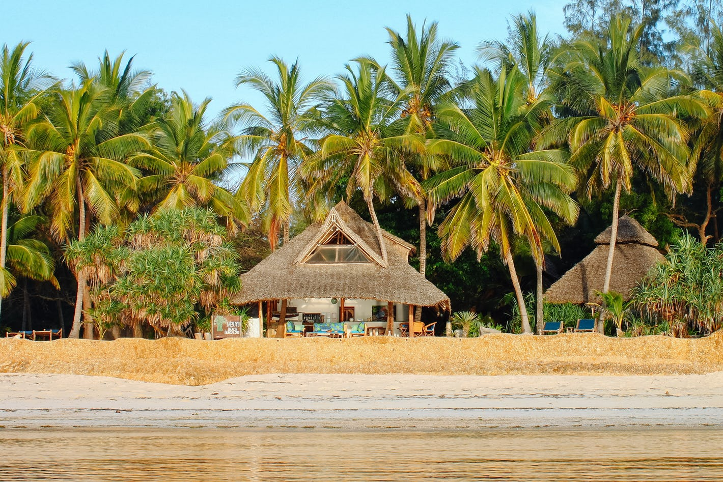 The best sort of beach holiday on Kenya's picturesque.