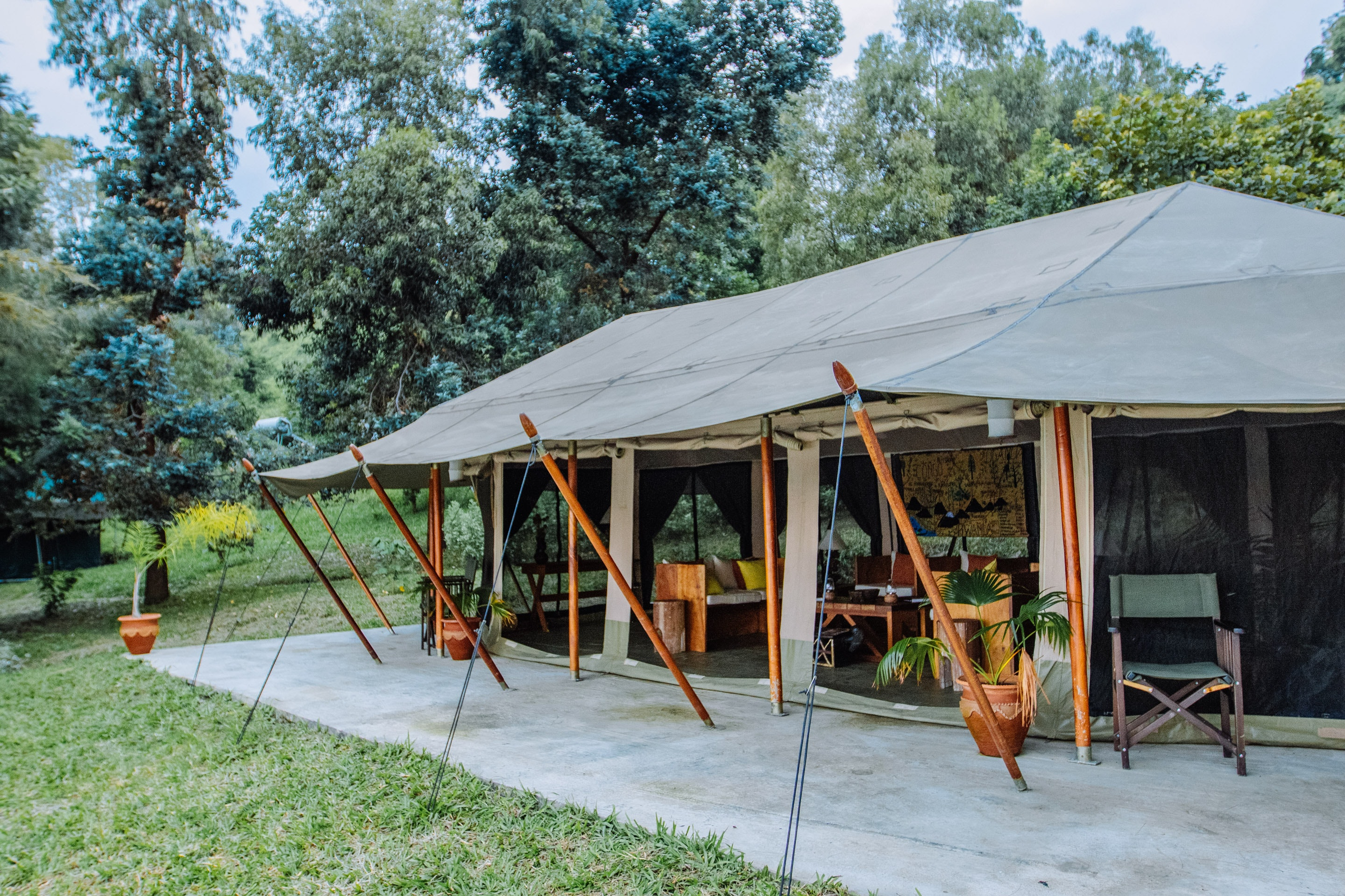 The first  classic  safari experience in the DRC this brand-new c& & Bukima Tented Camp DRC | Timbuktu Travel